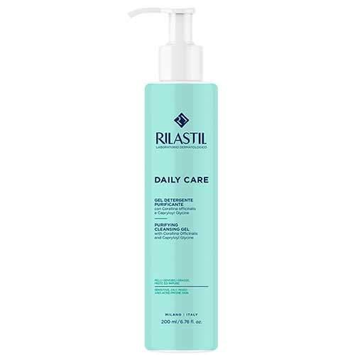 Rilastil Daily Care Очищающий гель для жирной, комбинированной и склонной к акне кожи, 200 мл
