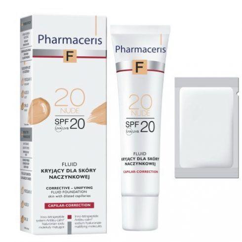 Pharmaceris F Capilar-Correction Флюид тональный корректирующе-выравнивающий SPF 20