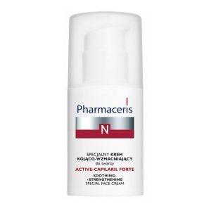 Pharmaceris N Active-Capilaril Forte Крем снимающий раздражения с укрепляющим эффектом, 30 мл