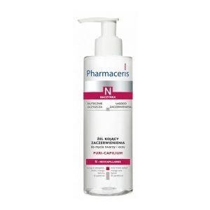 Pharmaceris N Puri-Capilium Очищающий гель успокаивающий покраснения, 190 мл