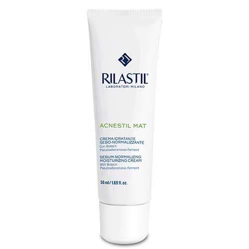 Rilastil Acnestil Mat Себо-нормализирующий увлажняющий крем, 50 мл