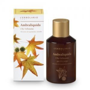 """L'Erbolario """"Ambraliquida"""" Разглаживающее масло для тела"""