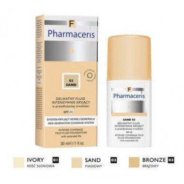 Pharmaceris F Intense Coverage Нежный тональный флюид SPF 20