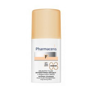 Pharmaceris F Intense Coverage Fluid SPF 20, Bronze