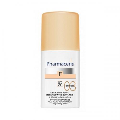 Pharmaceris F Intense Coverage Fluid SPF 20, Bronze