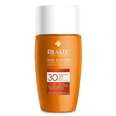 Rilastil SUN SYSTEM Флюид комфорт SPF 30 для чувствительной кожи