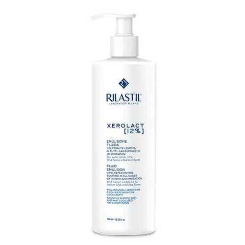 Rilastil Xerolact Увлажняющий флюид-эмульсия 12 % соли молочной кислоты