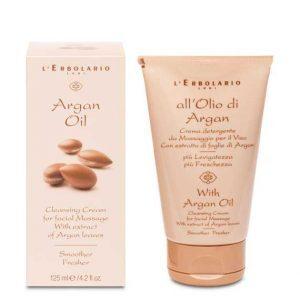 "L'Erbolario ""All'Olio di Argan"" Очищающий крем для лица 125 мл"