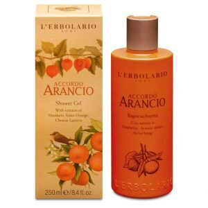 """L'Erbolario """"Accordo Arancio"""" Пена для ванны 250 мл"""