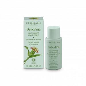 L'Erbolario Delicalma Двухфазное масло для лица и тела