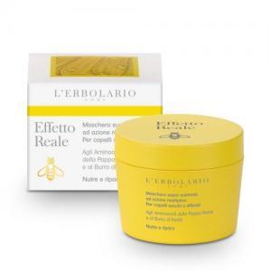"""L'Erbolario """"Effetto Reale"""" Суперпитательная маска для восстановления сухих и ломких волос, 150 мл"""