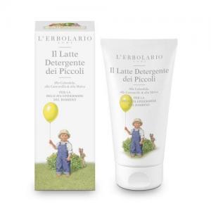L'Erbolario Детское очищающее молочко с календулой
