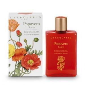 "L'Erbolario ""Papavero Soave"" Пена для ванны"