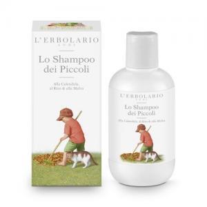 L'Erbolario Детский шампунь с календулой, рисом и мальвой
