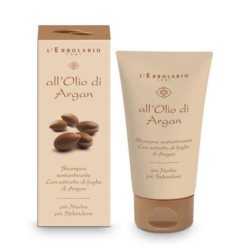 """L'Erbolario """"All'Olio di Argan"""" Уплотняющий шампунь для волос, 150мл"""