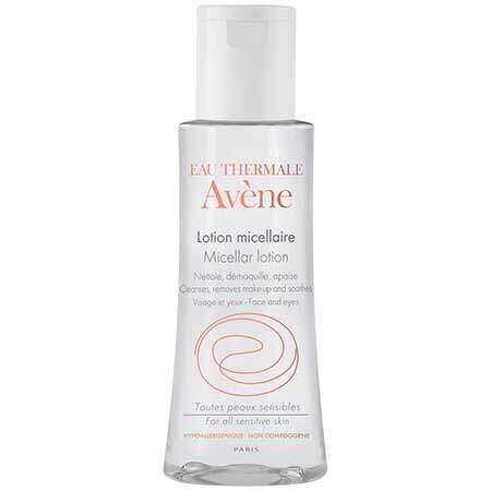 Avene Мицеллярный лосьон для очищения кожи и удаления макияжа