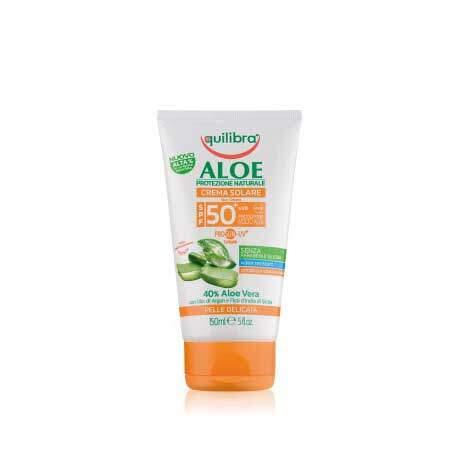 Equilibra Aloe Солнцезащитный крем SPF 50+