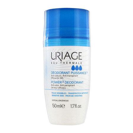 Uriage Дезодорант шариковый тройного действия Deodorant Puissance 3