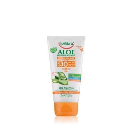 Equilibra Aloe Солнцезащитный крем SPF 30+