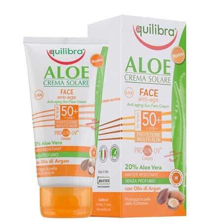 Equilibra Aloe Солнцезащитный антивозрастной крем для лица SPF 50