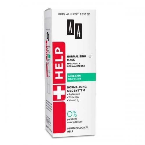 AA Help Acne Skin Антибактериальная нормализующая маска