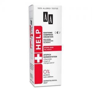 AA Help Atopic Skin SOS Успокаивающий крем-компресс