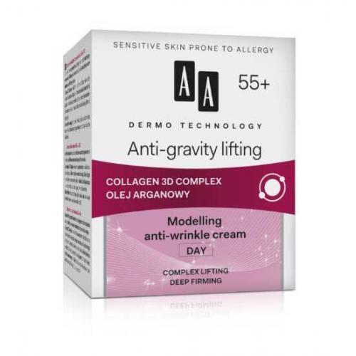 """AA Dermo Technology """"Антигравитационная подтяжка"""" Дневной моделирующий крем против морщин"""