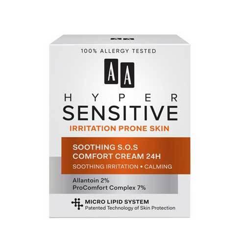 AA Hypersensitive Успокаивающий и смягчающий крем S.O.S 24ч