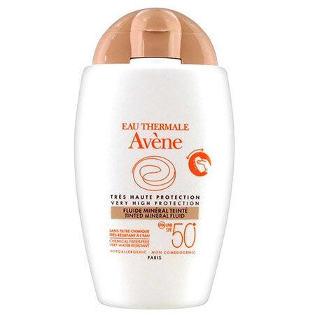 Avene Флюид минеральный тональ SPF 50+, 40мл.
