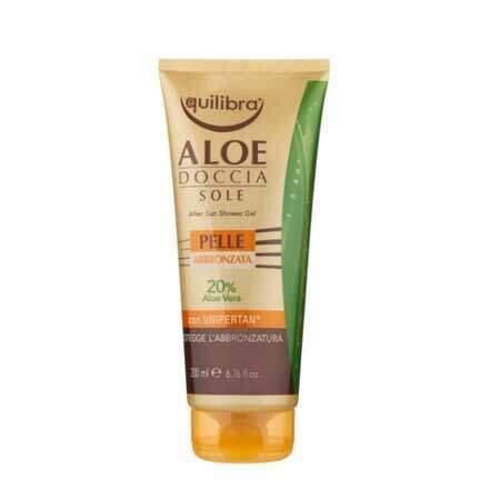 Equilibra Aloe Гель для душа после солнечной ванны