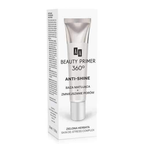 AA Beauty Primer 360° Матирующая основа под макияж, сужающая поры,