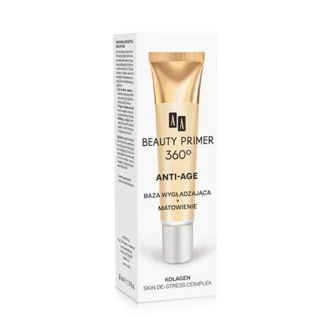 AA Beauty Primer 360° Разглаживающая и матирующая основа под макияж