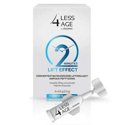 Less4Age Пептидные ампулы Мгновенный лифтинг