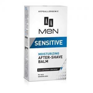 AA Men Sensitive Увлажняющий бальзам после бритья