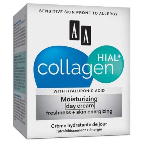 AA Collagen Hial+ Антивозрастной дневной крем свежесть и пробуждение кожи