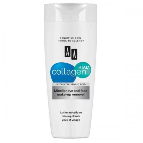 AA Collagen Hial+ Мицеллярная жидкость для снятия макияжа с глаз и лица