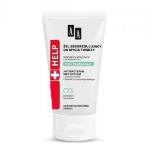 AA Help Acne Skin Гель себорегулирующий для умывания