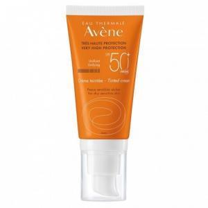 Avene Крем солнцезащитный тонирующий SPF50, 50мл