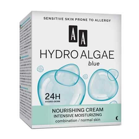 AA Hydro Algae Blue Ночной мультиувлажняющий крем для комбинированной и нормальной кожи