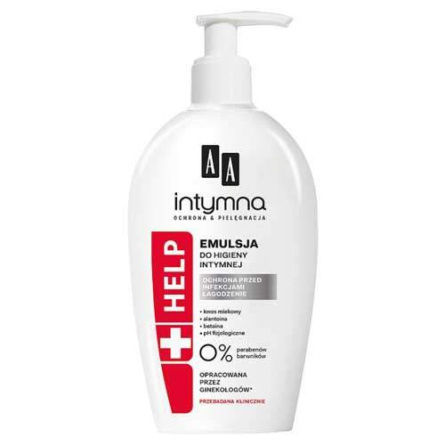 AA Intymna Help Эмульсия для интимной гигиены
