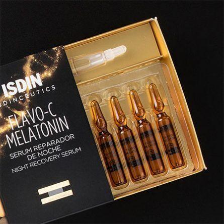 ISDIN Сыворотка для лица ночная Isdinceutics Flavo-C Melatonin