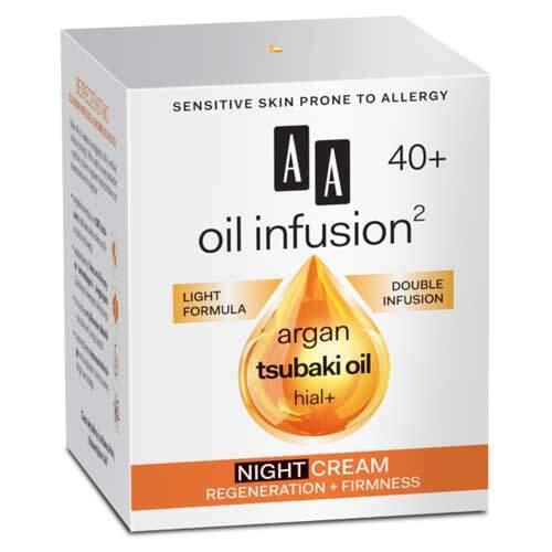 """AA Oil Infusion2 40+ Ночной крем """"Регенерация + Упругость"""","""