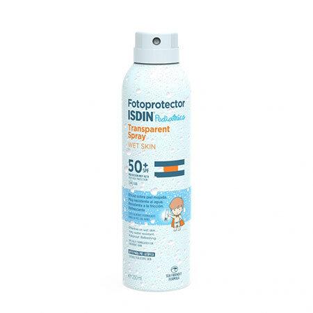 ISDIN Прозрачный солнцезащитный спрей для детей SPF 50+ Fotoprotector