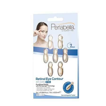 Perlabella Антивозрастная сыворотка для кожи вокруг глаз с Ретинолом, 7 шт