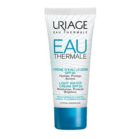 Uriage Крем легкий, увлажняющий SPF20 Eau Thermale