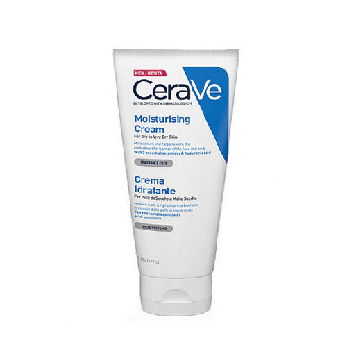 CeraVe Крем увлажняющий для сухой и очень сухой кожи лица и тела, 50 мл