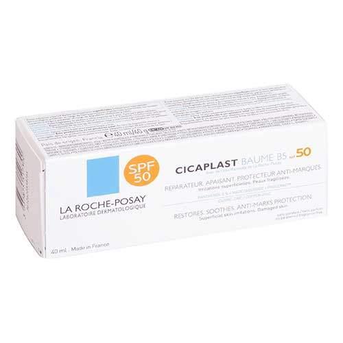 La Roche-Posay Бальзам для тела солнцезащитный B5 SPF 50 Cicaplast