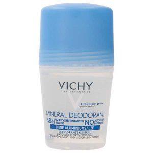 VICHY Deo Mineral Дезодорант шариковый с минералами без солей алюминия 48ч 50 мл