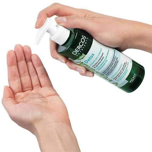 Vichy Dercos Nutrients Detox Глубоко очищающий шампунь