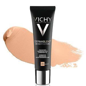 VICHY DERMABLEND Тональная основа корректирующая макияж 3D Sand